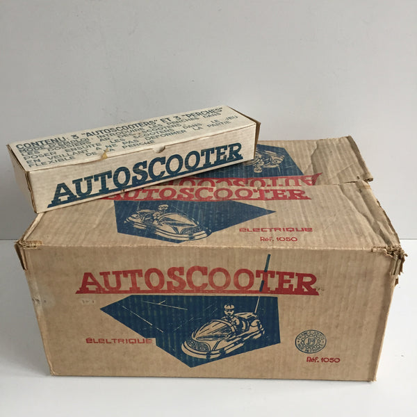 Vintage French Toy Autoscooter - Autoscooter Vintage - Free Delivery UK-Livraison Gratuite France