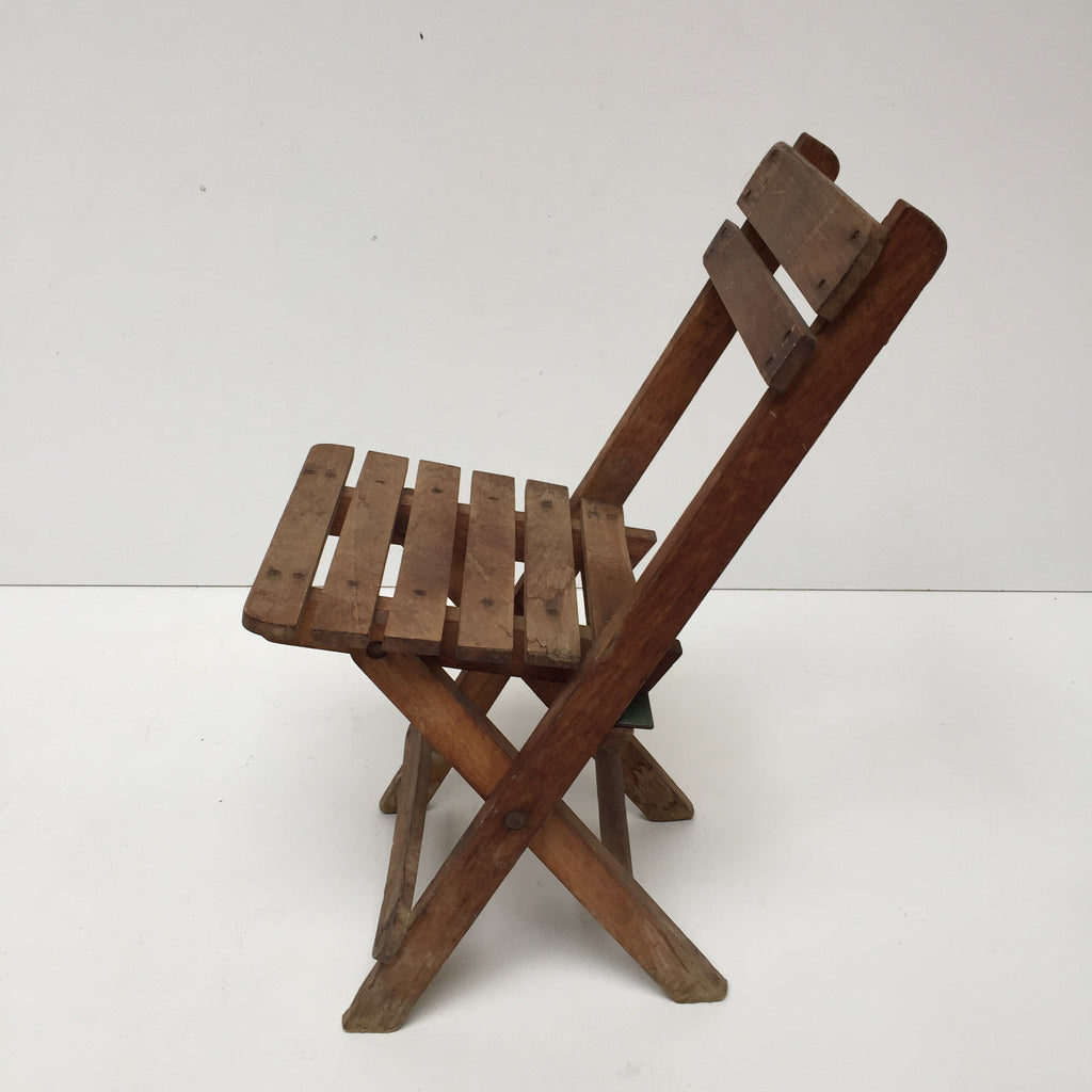 Vintage Wooden Kid's Chair - Petite Chaise Enfant Vintage- Free Delivery UK-Livraison Gratuite France