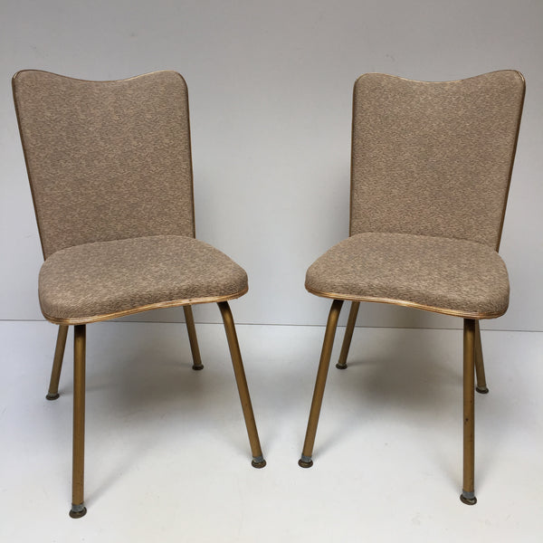 Pair of Vintage Retro Chairs - Paire de Chaises Vintage - Free Delivery UK-Livraison Gratuite France