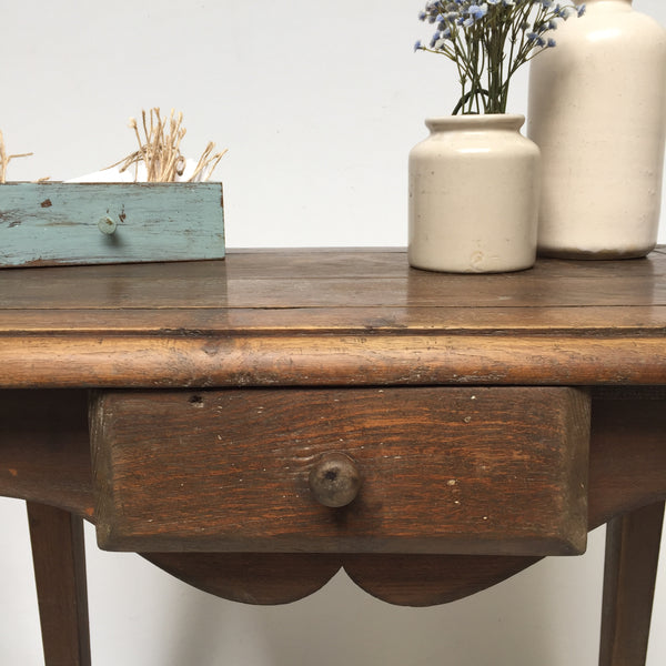 Vintage French Farmhouse Shabby Chic Table - Petite Table Ancienne Shabby Vintage - Free delivery UK France