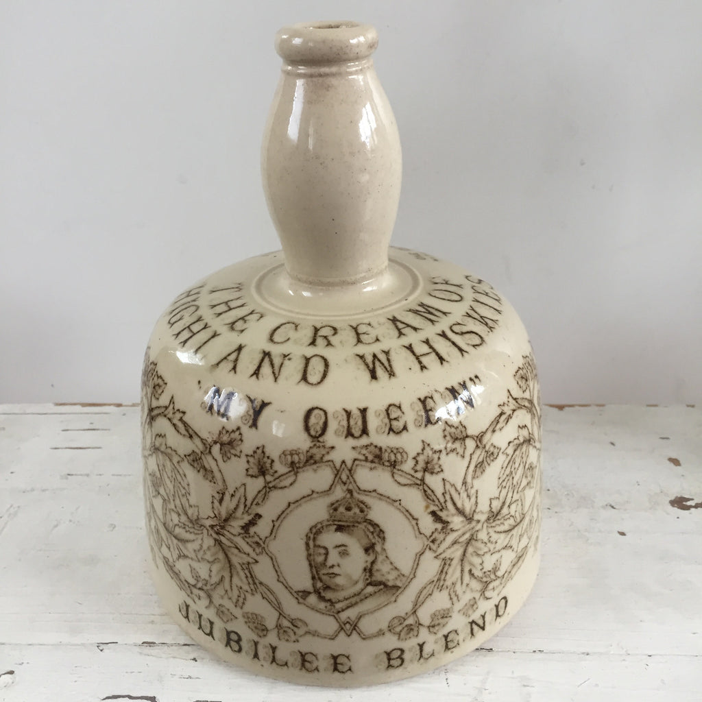 Thom & Cameron Jubilee Blend Stoneware Whisky Bottle - Bouteille Whisky Thom & Cameron - Free Delivery UK - Livraison Gratuite France