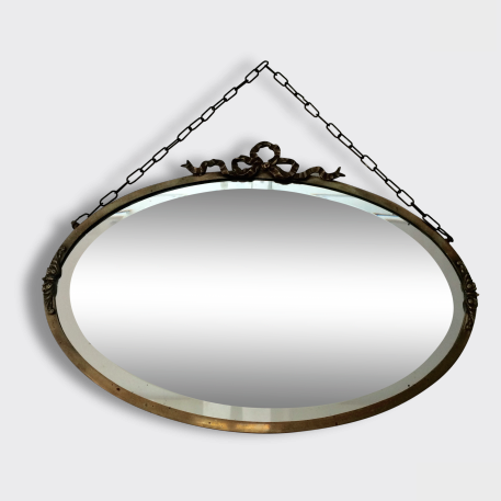 Louis XVI French Antique Bevelled Mirror - Miroir Louis XVI Ancien Biseauté - Free delivery UK France