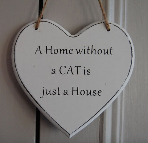 A Home without a Cat Gifts www.HouseSign.uk