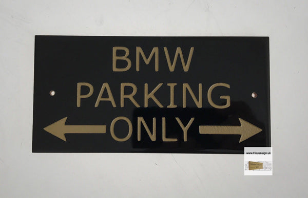 Car Signs Gifts www.HouseSign.co.uk BMW