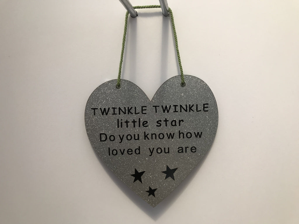 TWINKLE TWINKLE little star Gifts www.HouseSign.co.uk