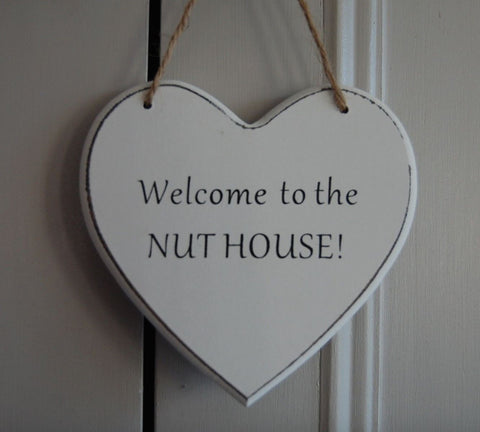 Welcome to the Nut House Gifts www.HouseSign.uk