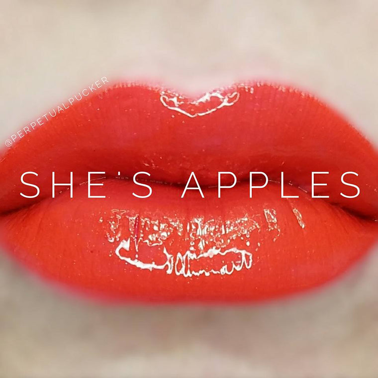 She's Apples Starter Collection (color, glossy gloss and oops remover)