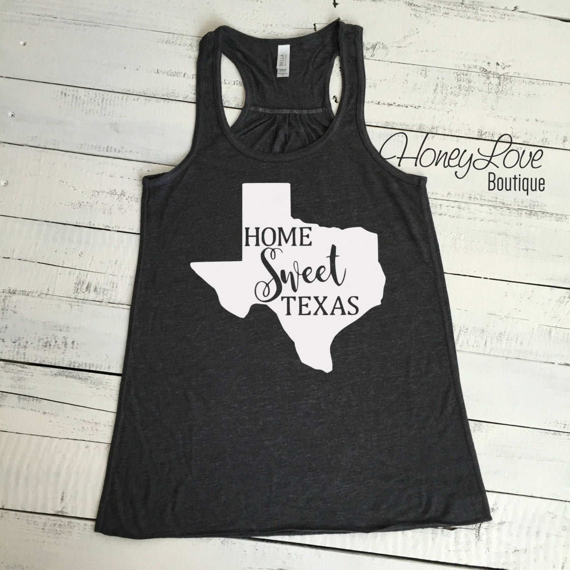 Home Sweet Texas flowy tank