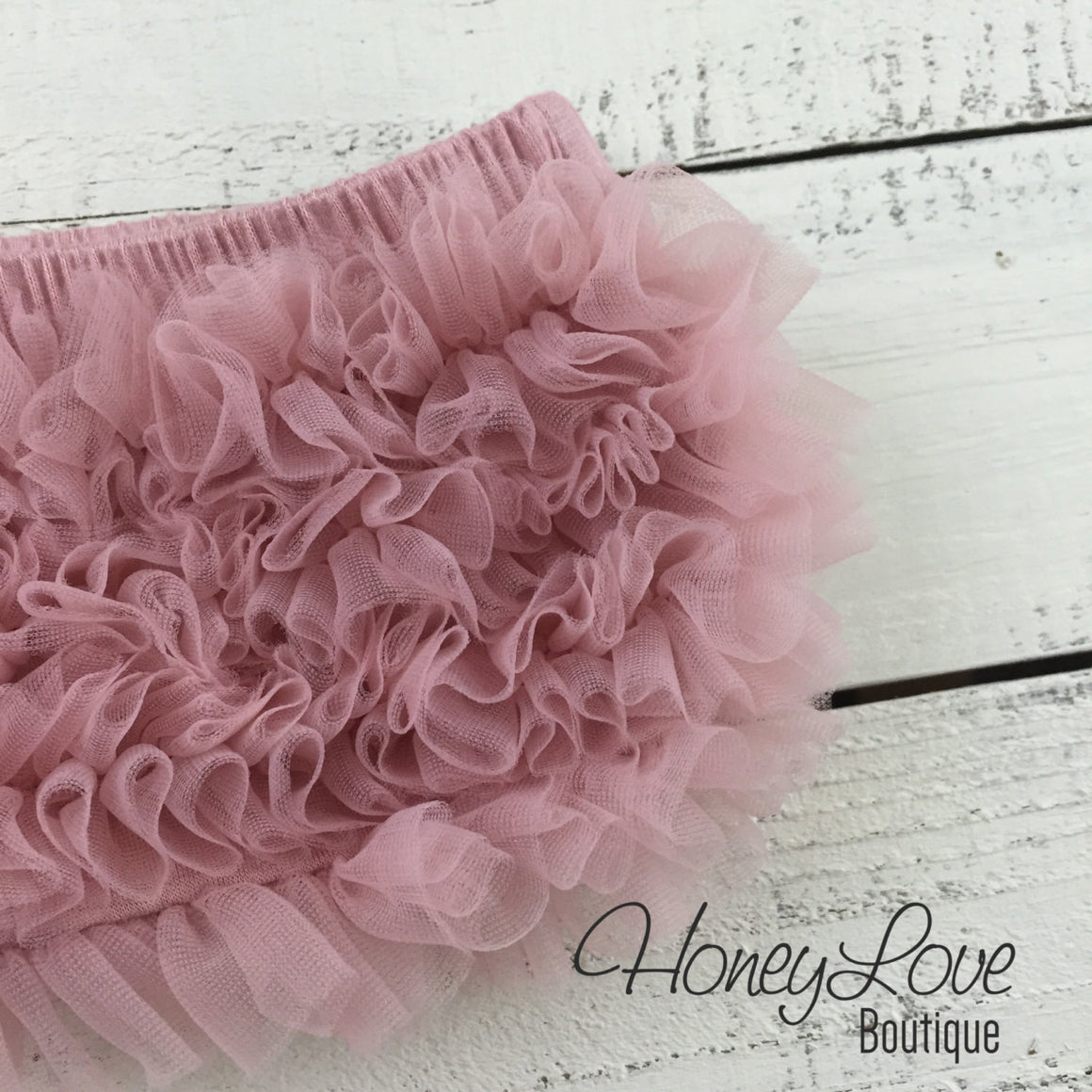 Ruffle Bottom Bloomers - Vintage Pink