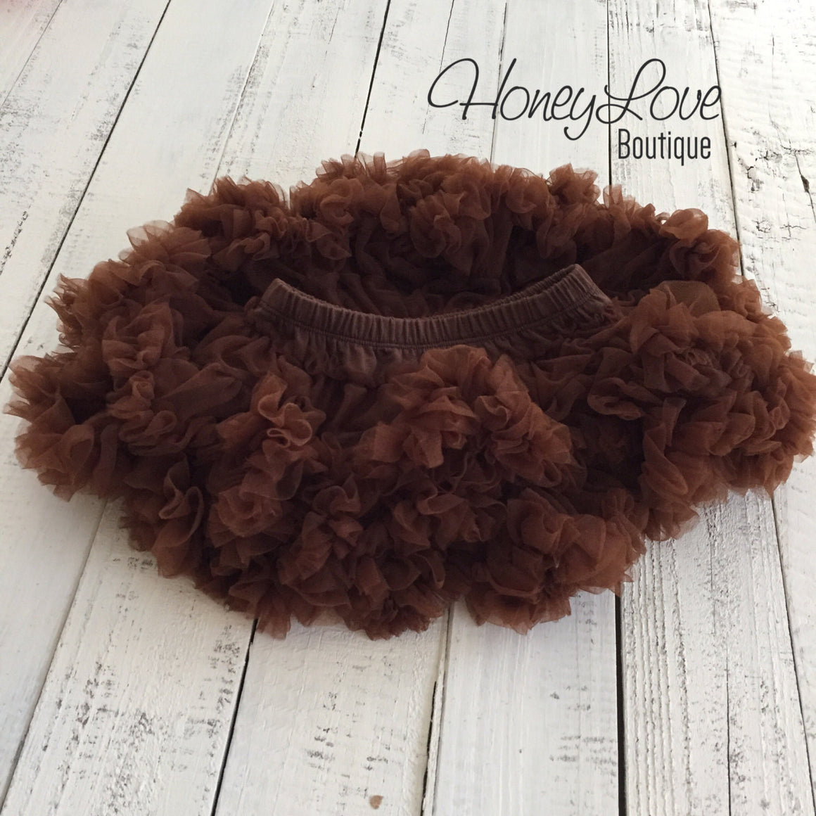 Brown Pettiskirt - HoneyLoveBoutique