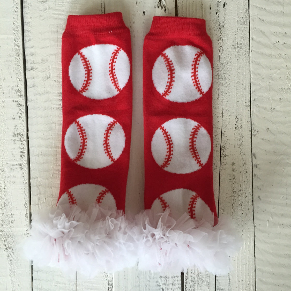 Leg Warmers - Baseball/Softball with or without white ruffle
