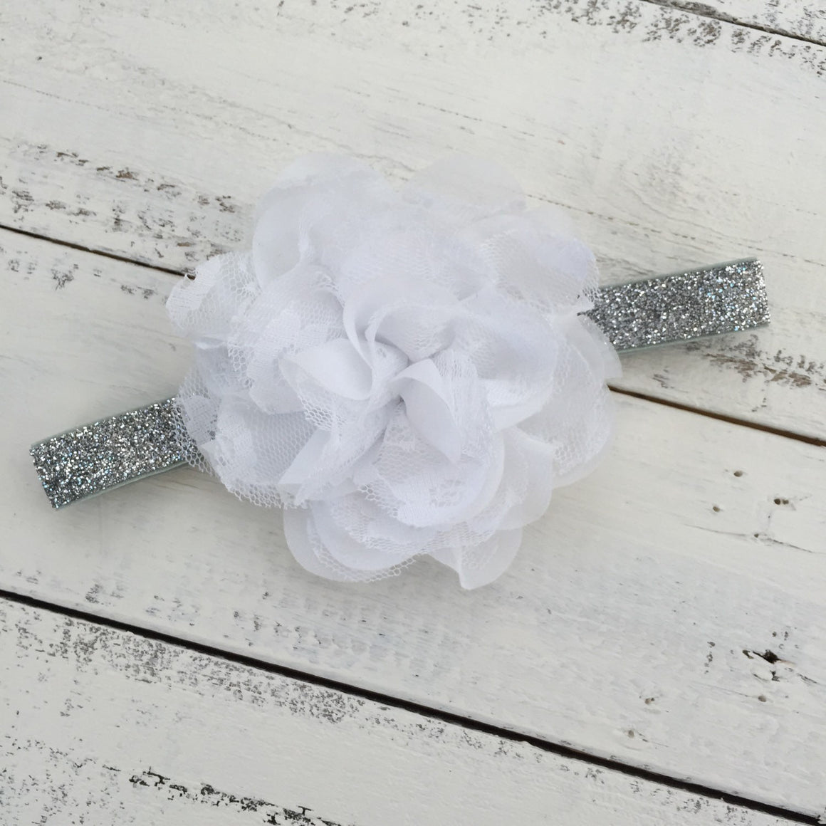 Hello World! Silver glitter bodysuit and headband set