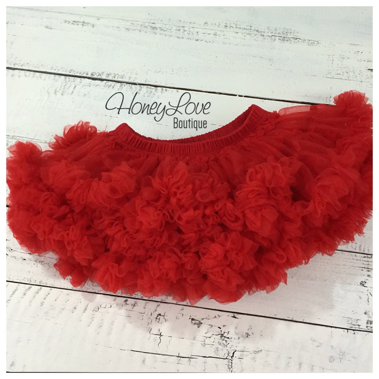 Red Pettiskirt - HoneyLoveBoutique