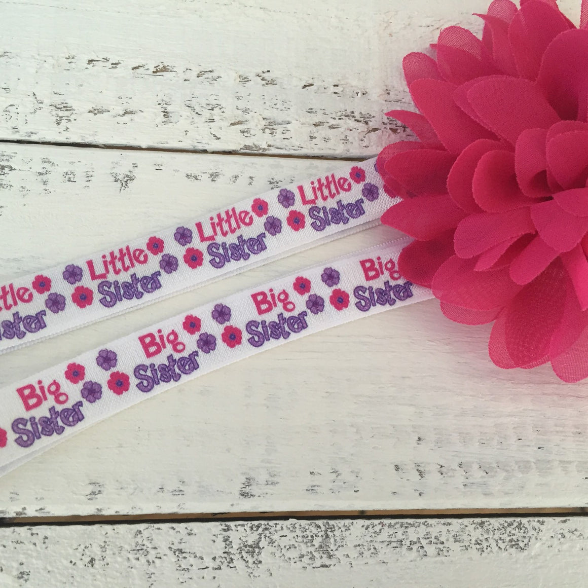 Sister headbands - Little or Big sister - HoneyLoveBoutique
