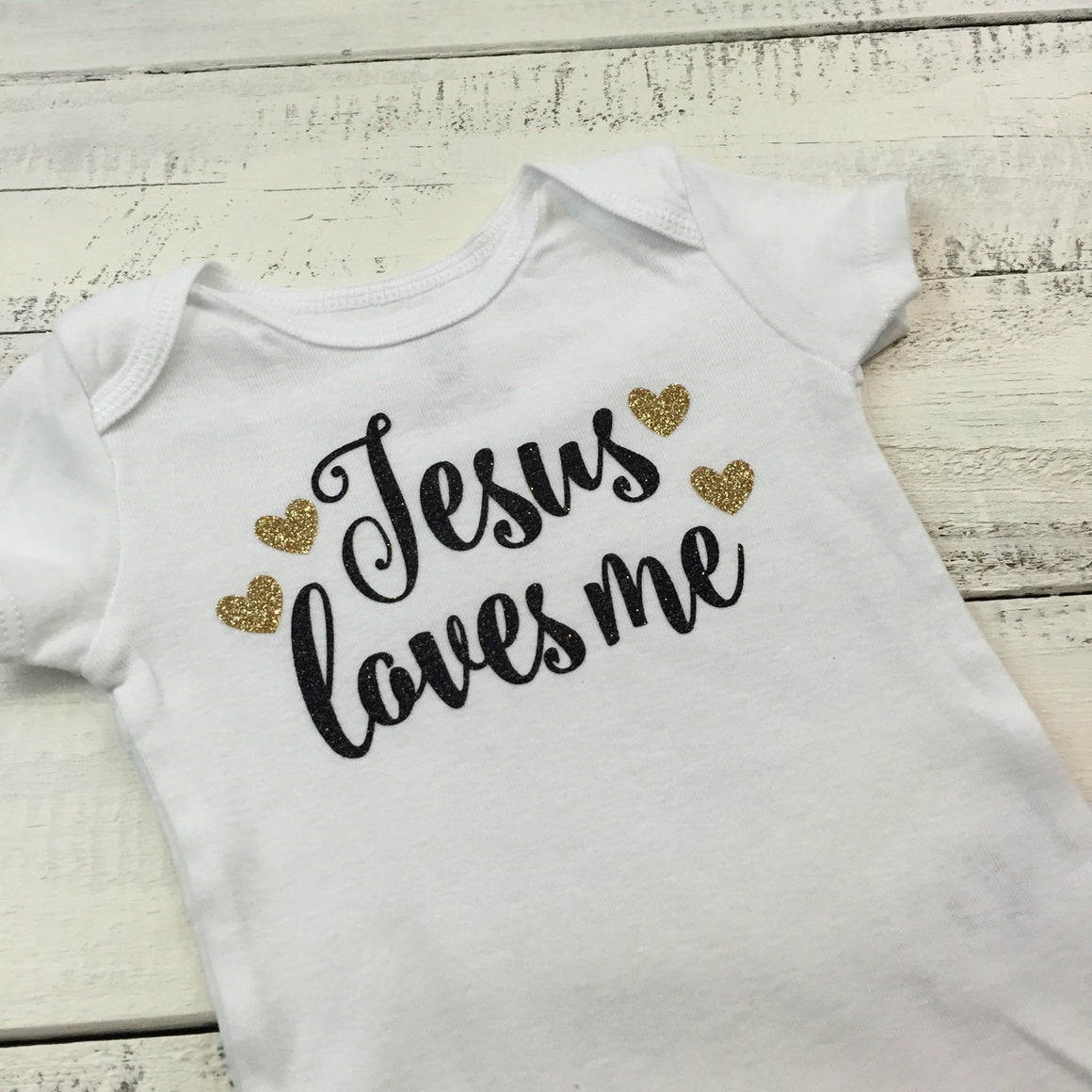 Jesus loves me Outfit Set - HoneyLoveBoutique