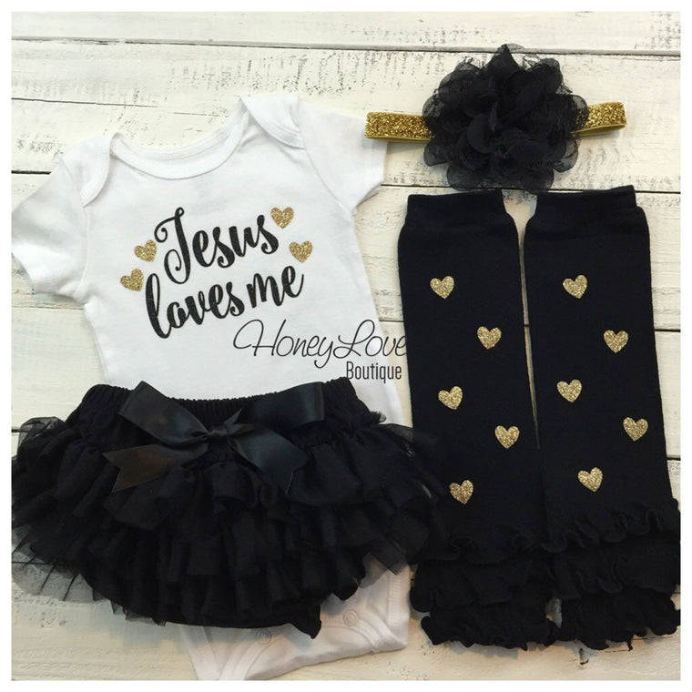 Jesus loves me Outfit Set