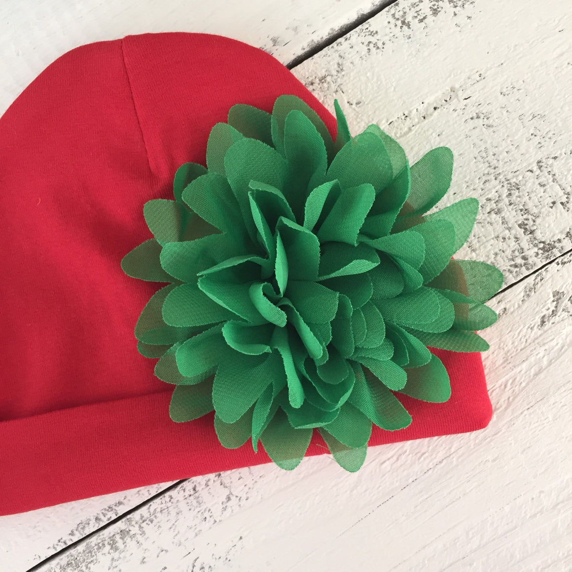 Christmas newborn beanie/hat - HoneyLoveBoutique