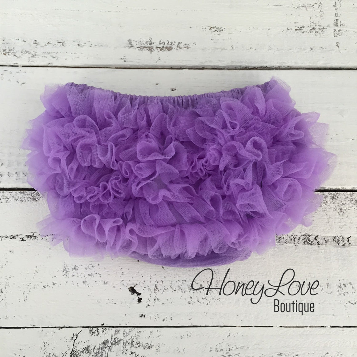 Lavender Purple - Pettiskirt - Tutu Skirt Bloomer - Ruffle Bottom Bloomer