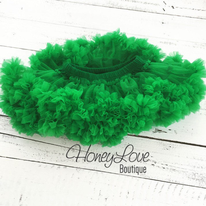 Kelly Green Pettiskirt