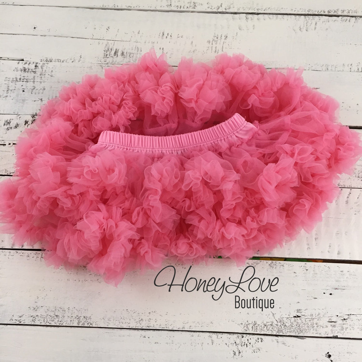 Coral Pink Pettiskirt and lace shabby flower cluster headband