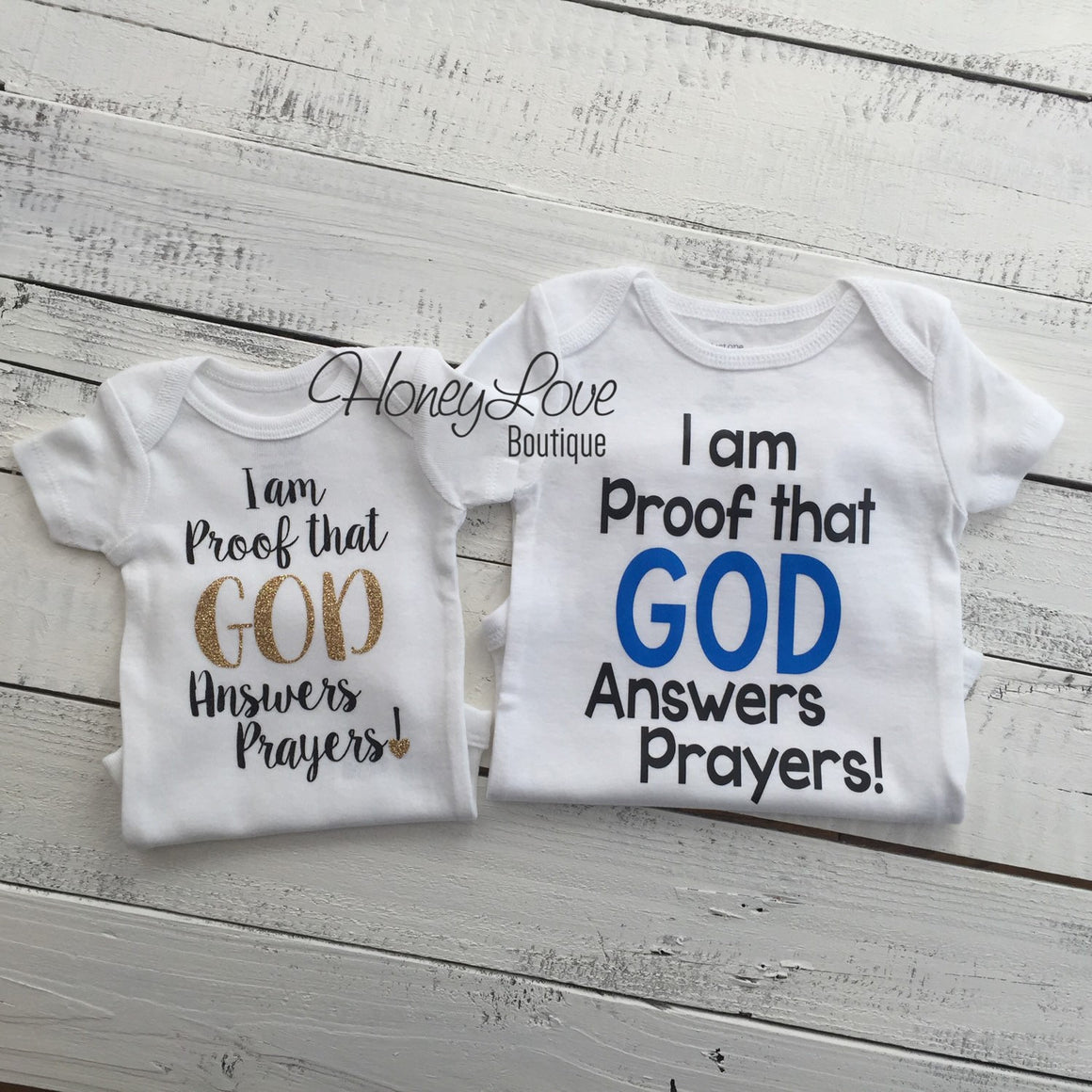 I am Proof that GOD Answers Prayers! - HoneyLoveBoutique