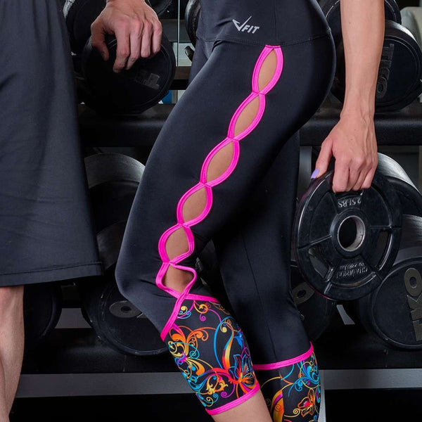 Cosmic Fit Pink Leggings