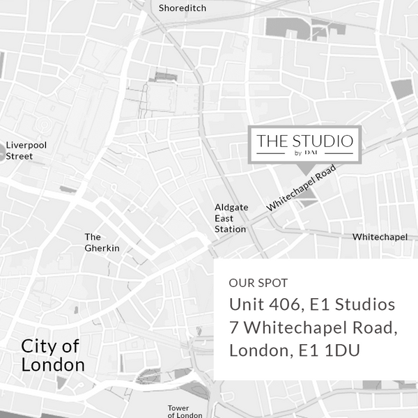 map of where the studio is