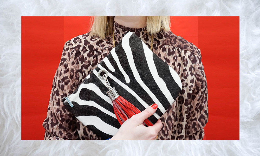 animal-zebra-print-calf-fur-clutch-bag-red-leather-tassel