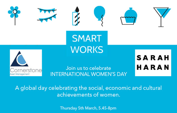 International Women's Day Smart Works Invite