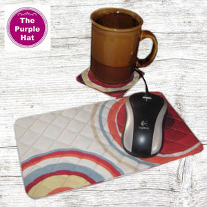 ITH In the Hoop Coaster 4x4 and Mousepad 6x10