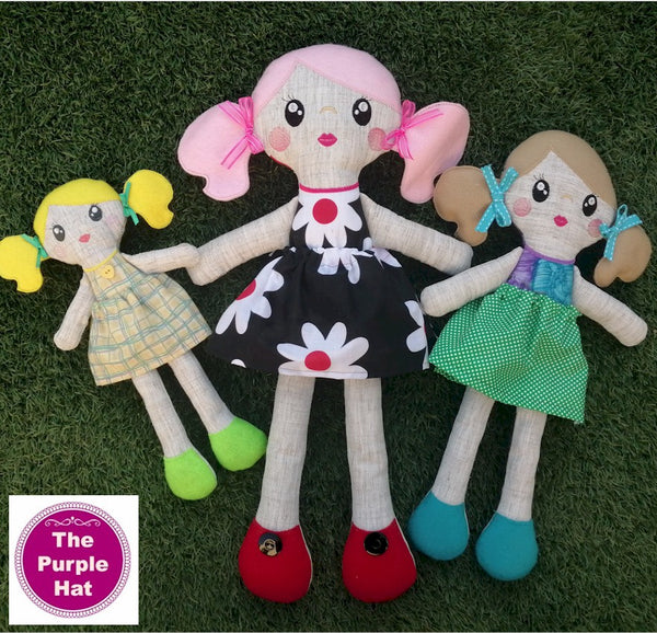 ITH Cloth Doll 5x7 6x10 8x12