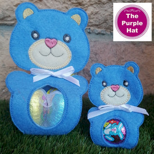 ITH Bear Egg Holder 5x7 6x10