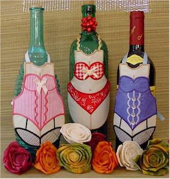 ITH Saucy Female Bottle Aprons 5x7