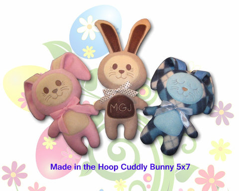 ITH Cute Cuddly Bunny Soft Stuffed Toy 5x7