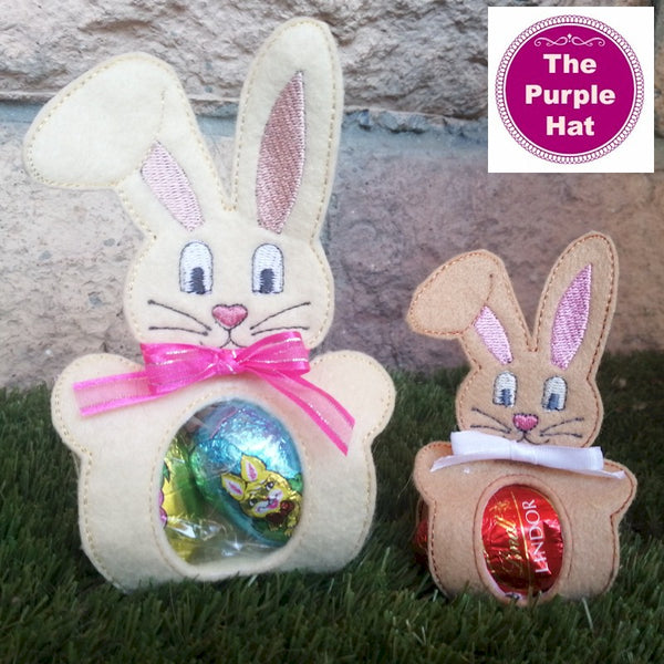 ITH Bunny Egg Holder 5x7 6x10