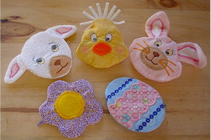 ITH Coin Purses Set 6 Easter