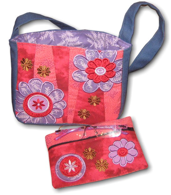 ITH Edgy Flowers Bag 5x7