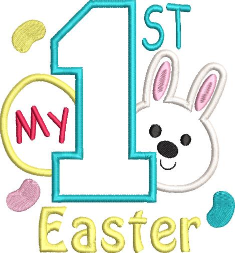 FREE My 1st Easter 5x7