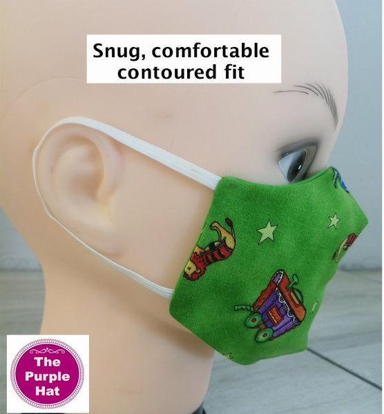 In the Hoop ITH Reversible Contoured Face or Dust Mask V.2 4 sizes 5x7 6x10