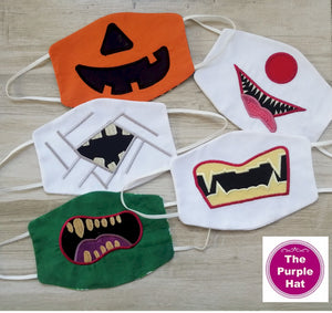 ITH Halloween Kids Face or Dust Mask 5x7