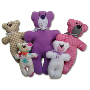 ITH Sweet & Simple Stuffed Bear 5x7 6x10 8x12 8x14