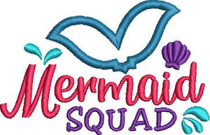 FREE Mermaid Squad 4x4
