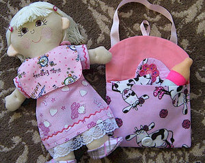 ITH Molly Dolly Diaper Bag Set 5x7