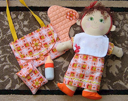 ITH Molly Dolly Diaper Bag Set 6x10