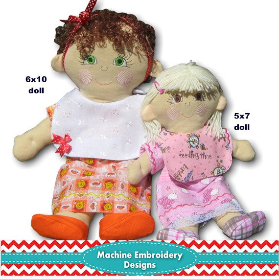 ITH Molly Dolly  Stuffed Doll 5x7