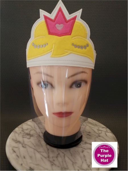 ITH Princess Face Shield for Kids 6x10
