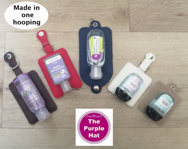 ITH In the Hoop Hand Sanitizer Bundle 4x4 & 5x7