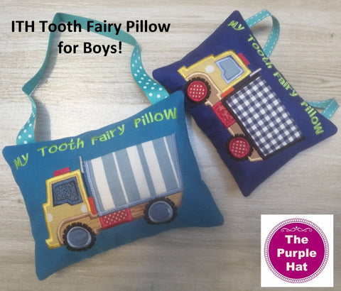 ITH In the Hoop Tooth Fairy Pillow 02 5x7 & 6x10