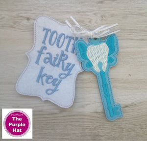 ITH In the Hoop Tooth Fairy's Magic Key 4x4
