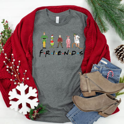 """Christmas Friends"" T-Shirt"